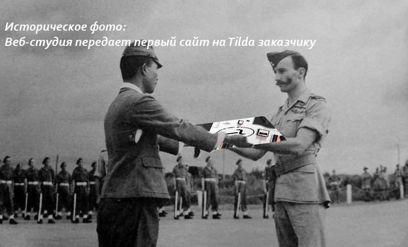 Можно ли передать сайт на Tilda другому пользователю?